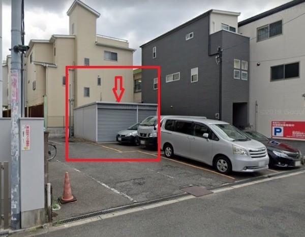 大阪市城東区中浜の貸事務所