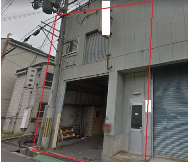 大阪市大正区南恩加島の貸事務所