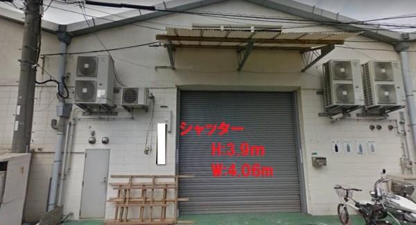 大阪市淀川区十八条の貸事務所