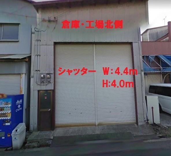 大阪市西淀川区竹島の貸事務所