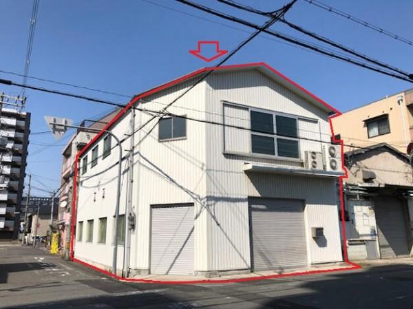 大阪市平野区加美西の貸事務所