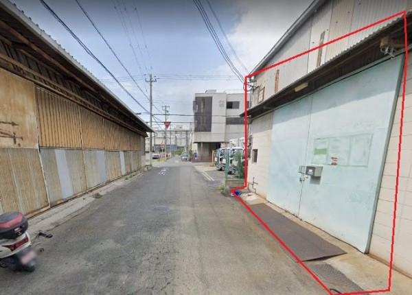 大阪市平野区平野馬場の貸事務所