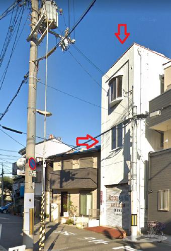 大阪市住吉区山之内の貸事務所