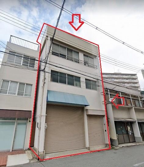 大阪市北区中津の貸事務所