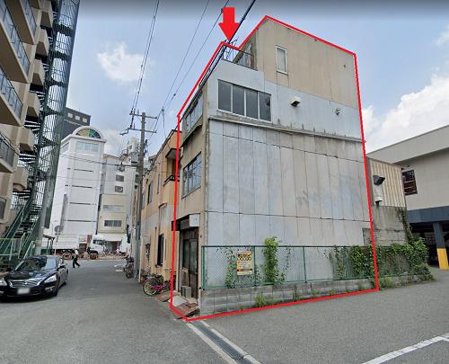 大阪市城東区関目の貸事務所