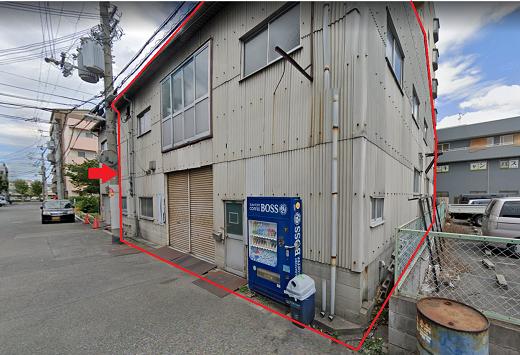 大阪市平野区加美正覚寺の貸事務所