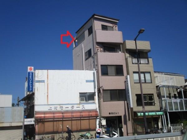 大阪市住之江区粉浜西の貸事務所
