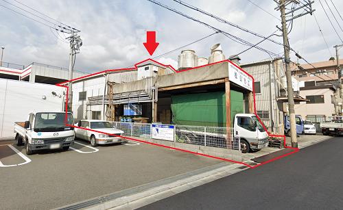 東大阪市衣摺の貸事務所
