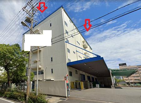 神戸市東灘区住吉浜町の貸事務所