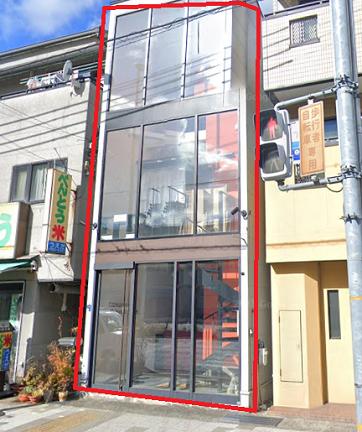 神戸市灘区琵琶町の貸事務所