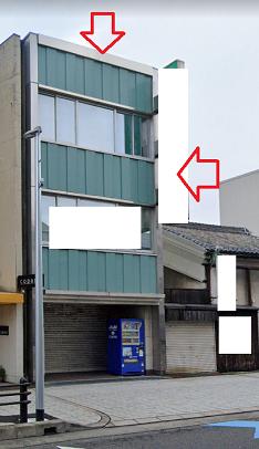 岸和田市筋海町の貸事務所