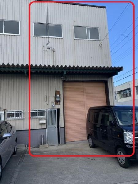 大阪市平野区長吉川辺の貸事務所