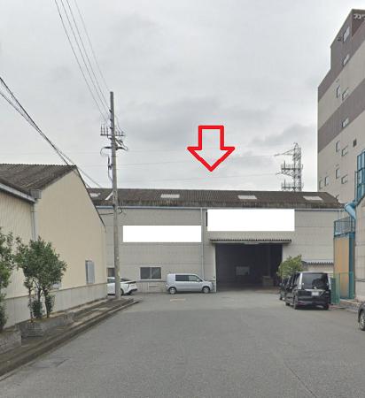 岸和田市臨海町の貸事務所